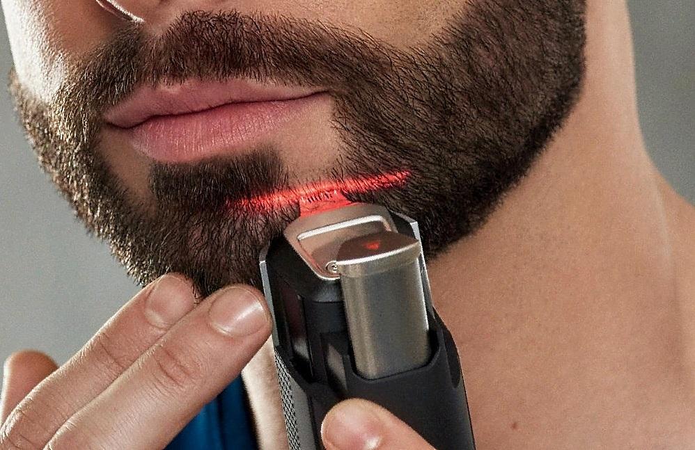 С помощью триммера можно создавать четкие линии и форму бороды